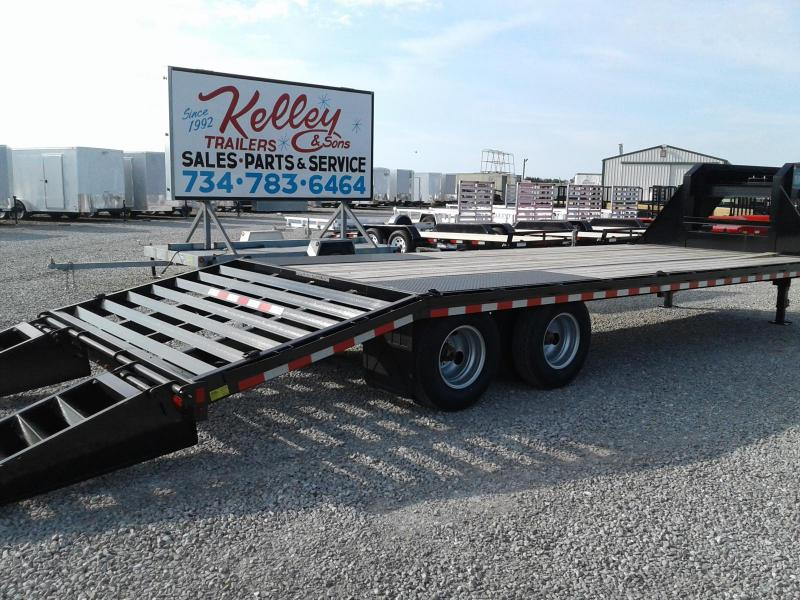 2018 Sure-Trac 8.5x20+5 Deckover Gooseneck 22.5K Equipment Trailer