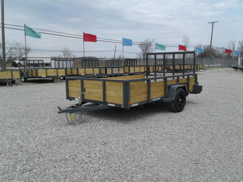 2018 Sure-Trac 7 x 12 3-Board Utility Trailer