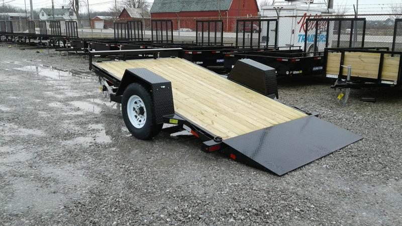 "2018 Sure-Trac 78"" x 12' 7k Tilt Equipment Trailer"