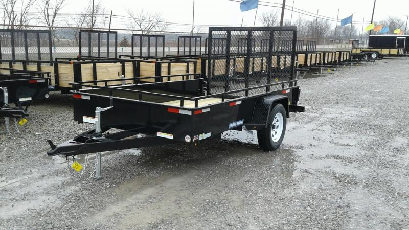 2018 Sure-Trac 6 x 10 Steel High Side Utility