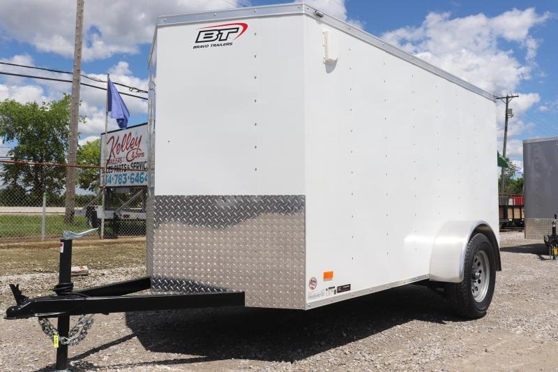 2020 Bravo Trailers 5x10 Scout w/ Ramp Door Enclosed Cargo Trailer