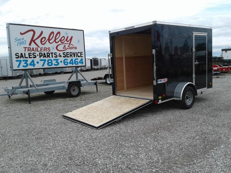 2019 Bravo Trailers 6x10 Hero w/Ramp Enclosed Trailer