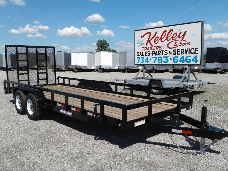 2019 Sure-Trac 7x20 10K Tube Top Utility Trailer