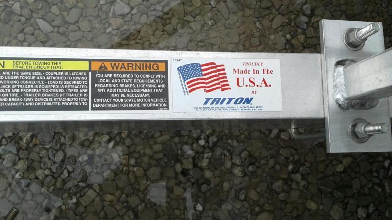 2016 Triton AUT 1082-B Utility Trailer