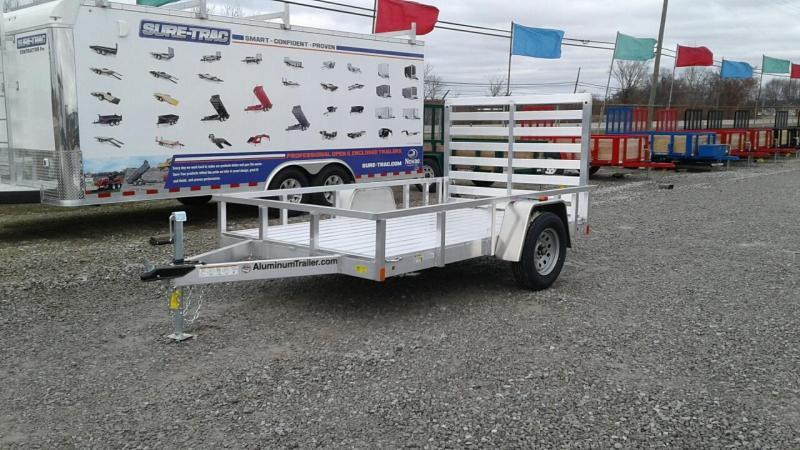 2018 Aluminum Trailer Company 6x10 Utility Trailer