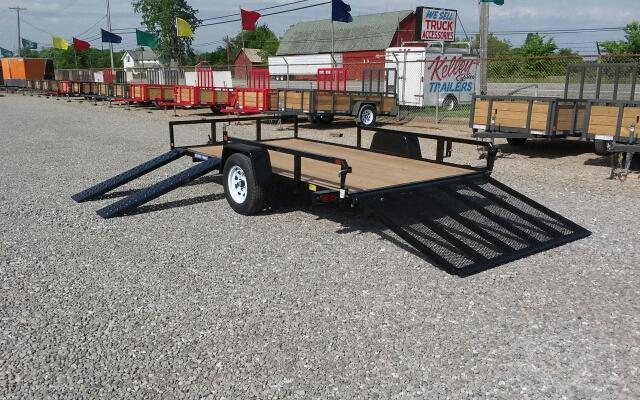 2018 Sure-Trac 7 x 12 2 Place ATV Utility Trailer