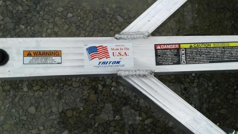 2017 Triton Trailers Tilt 1282 Utility Trailer