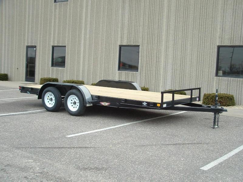 2019 H and H Trailer H8218+2GDFD-070 General Duty Car Hauler