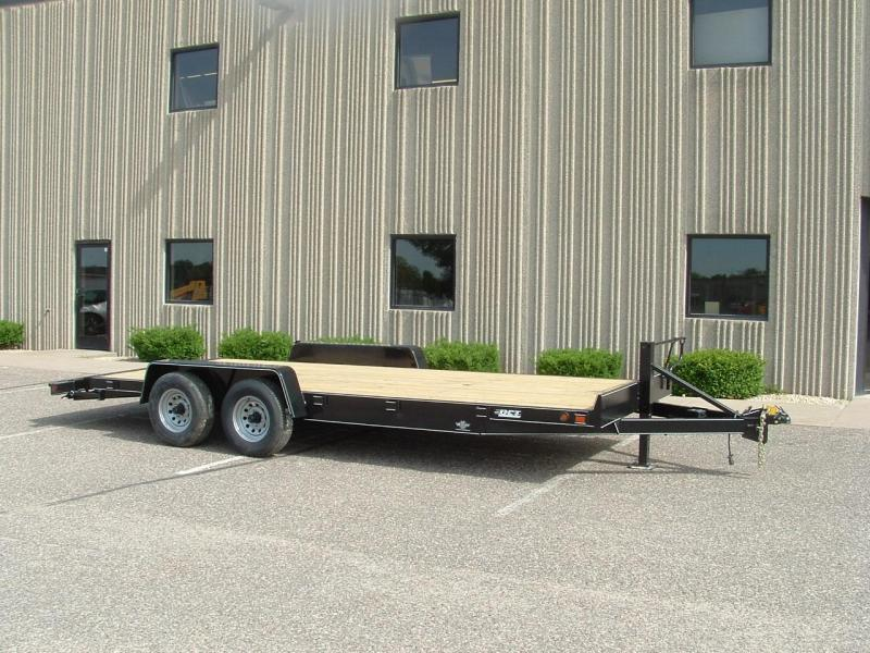 2018 DCT 18HD-10BT Heavy Duty Car/Utility Trailer