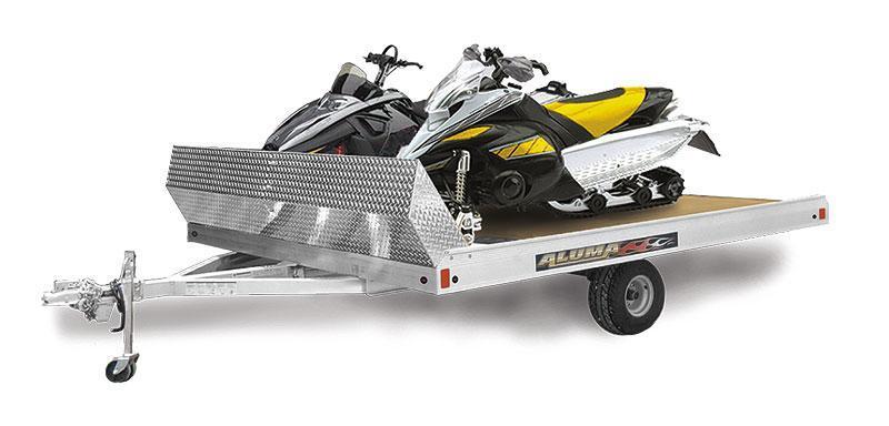 2020 Aluma 8612T Snowmobile Trailer
