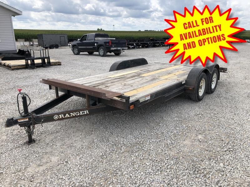 "2005 Roadclipper 83""x16' Car Hauler"