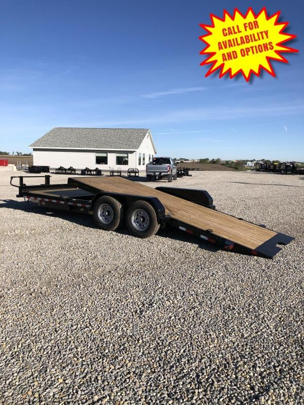 "New Big Tex 83""x20' Gravity Tilt 14000#"