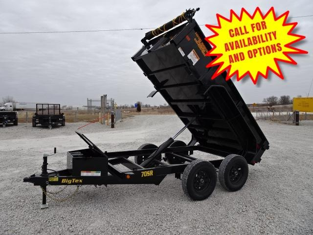 New Big Tex 5'x10' Dump 7000#