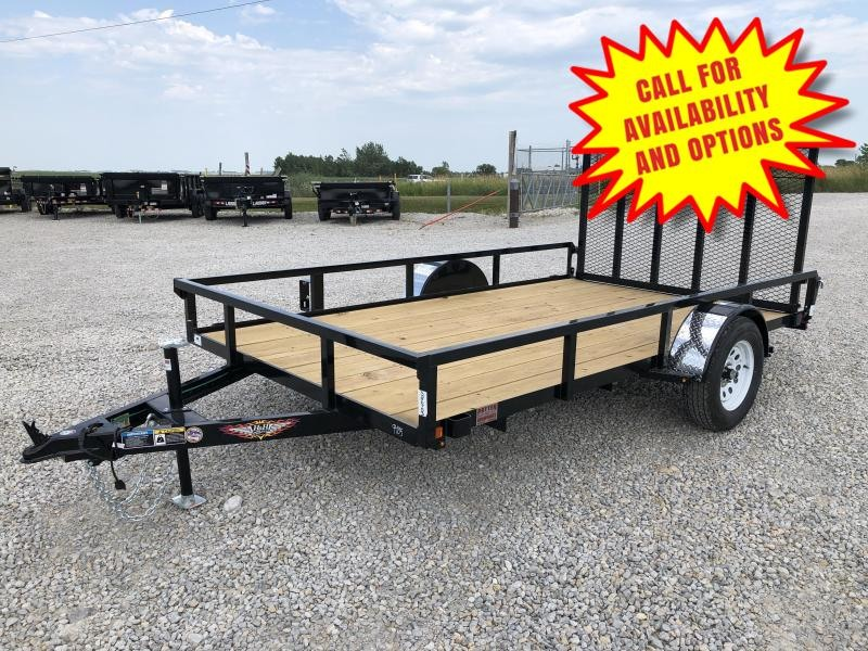 "New H&H 76""x12' W / Spring Assist Forward Folding Gate"