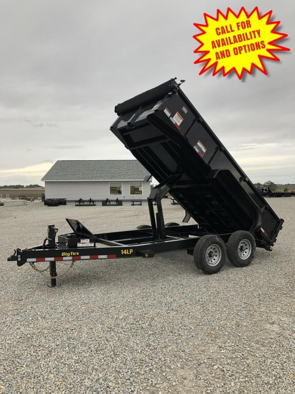 New Big Tex 16' Low Pro Dump 14000#