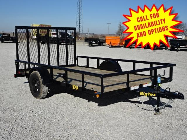 "New Big Tex 83""x14' W / 4' Spring Assist Gate"