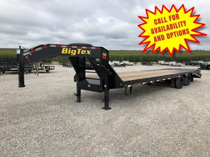 New Big Tex 30' Gooseneck 25900# GVWR