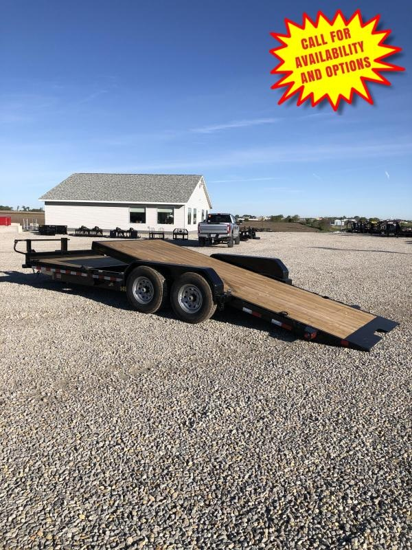 New Big Tex 22' Tilt 14000#