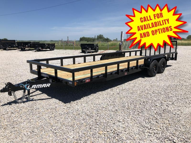 New Lamar 24' H.D. Ultimate UTV Utility Trailer