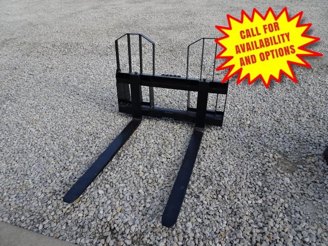 "New Loflin Fabrication 48"" Walk Through Pallet Forks 4000#"