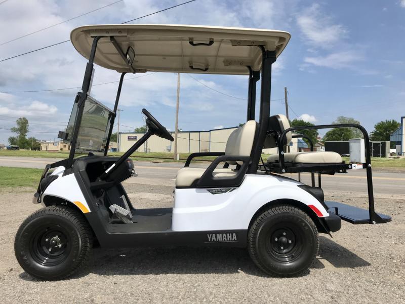 2018 Yamaha Drive 2 AC Electric PTV Golf Cart