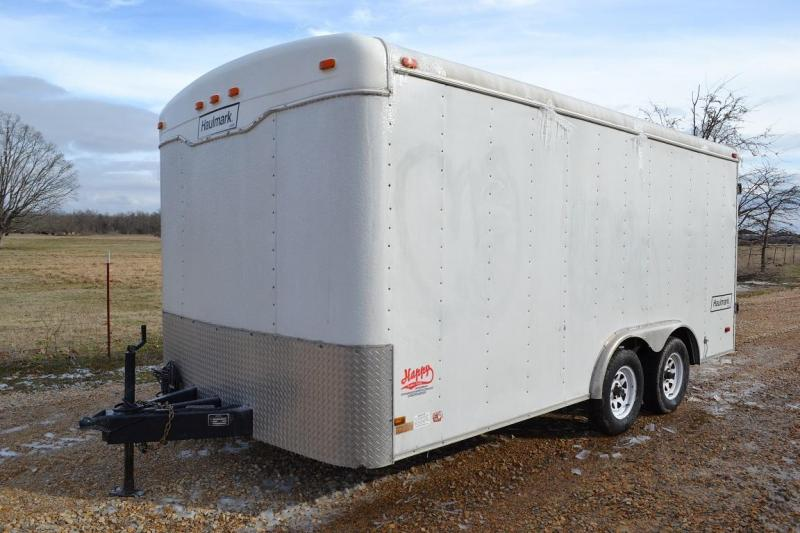 Used Haulmark 8.5'x16' Enclosed Trailer
