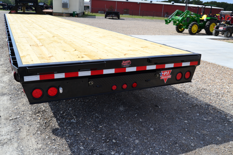 ... Air Ride Hot Shot Gooseneck | Happy Trailer Sales - Trailers in Texas