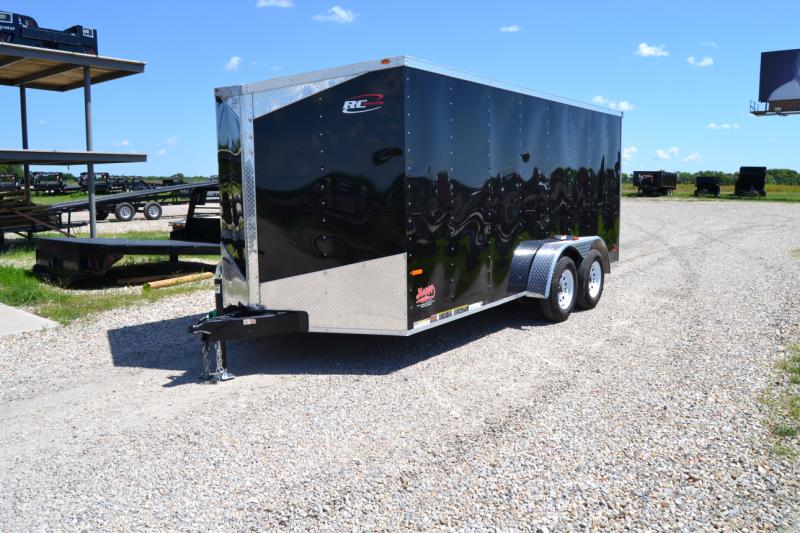 2017 Rc 7 39 X16 39 Enclosed Cargo Trailer Happy Trailer Sales Pj Trailers In Texas