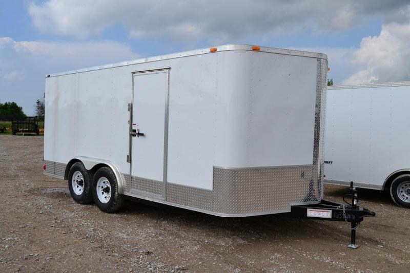 USED (Like New) 2014 Aris 8.5'x16' Enclosed Cargo Trailer