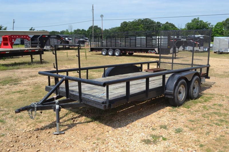 Used Home Fab 16 Utility Trailer