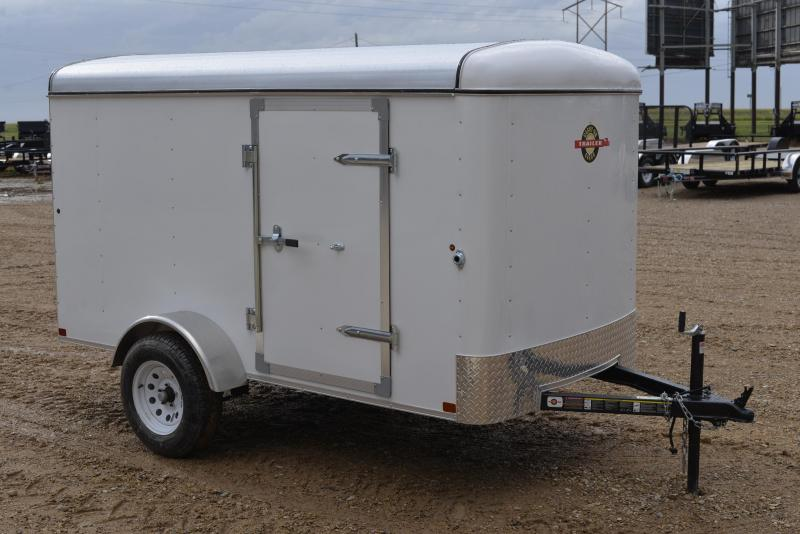 2016 Carry-On 5'x10' Single Axle Enclosed Trailer