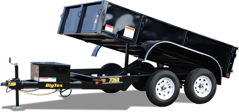2018 Big Tex Trailers 70SR-10-5WDD Dump Trailer