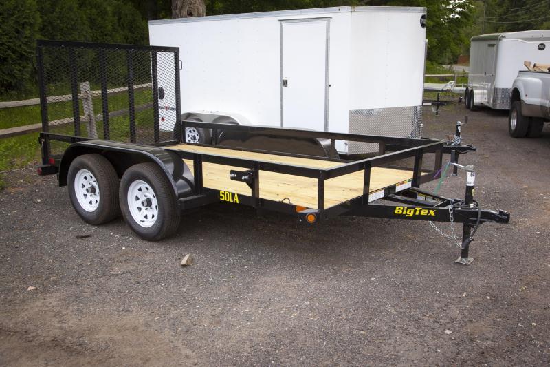 2018 Big Tex Trailers 50LA-12BK4RG Utility Trailer