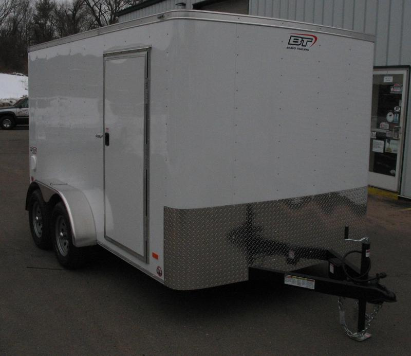 2019 Bravo Trailers SC712TA2 Enclosed Cargo Trailer