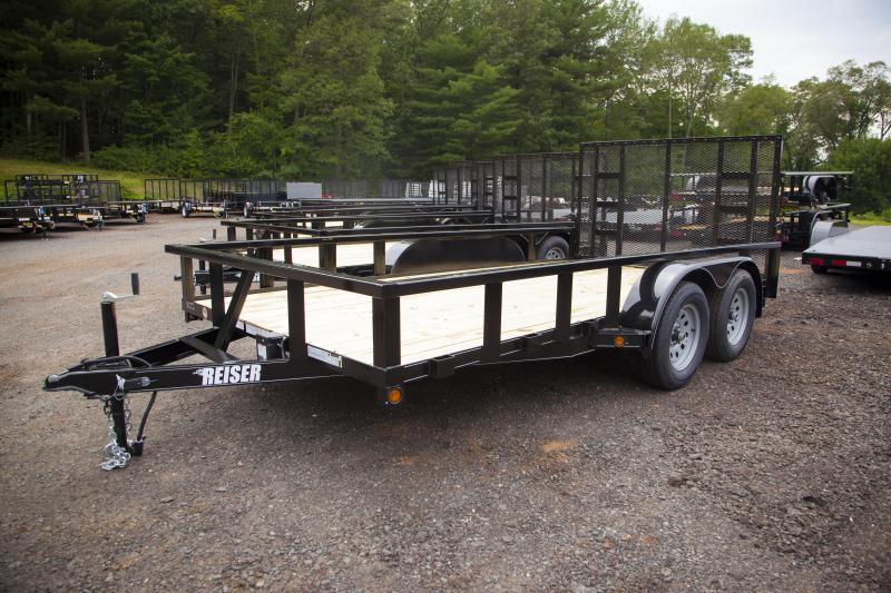 2017 Reiser L147K Equipment Trailer