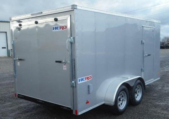 2019 Bravo Trailers HR714TA2 Enclosed Cargo Trailer
