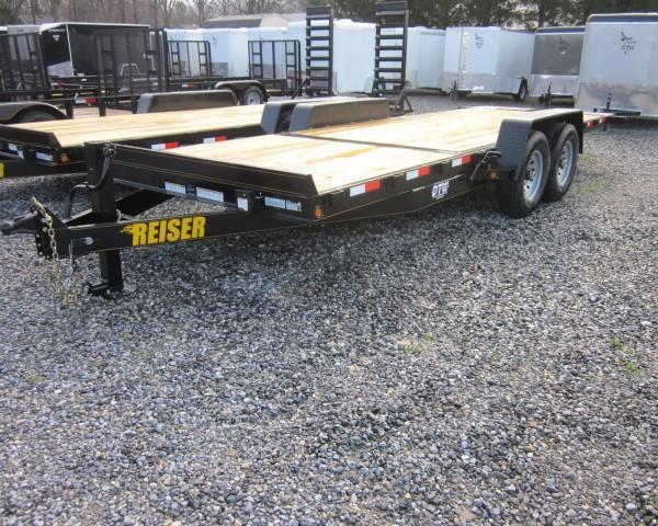 2017 REISER 20ft. SFT2014K Equipment Trailer