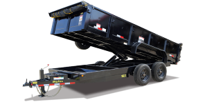 2018 Big Tex Trailers 16LX-16BK7SIRPD Dump Trailer