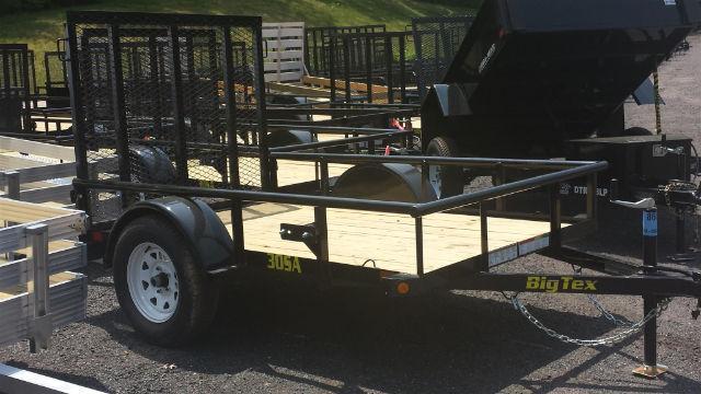 2016 Big Tex 8 x 5 Trailer 30SA-08BK4RG Utility Trailer