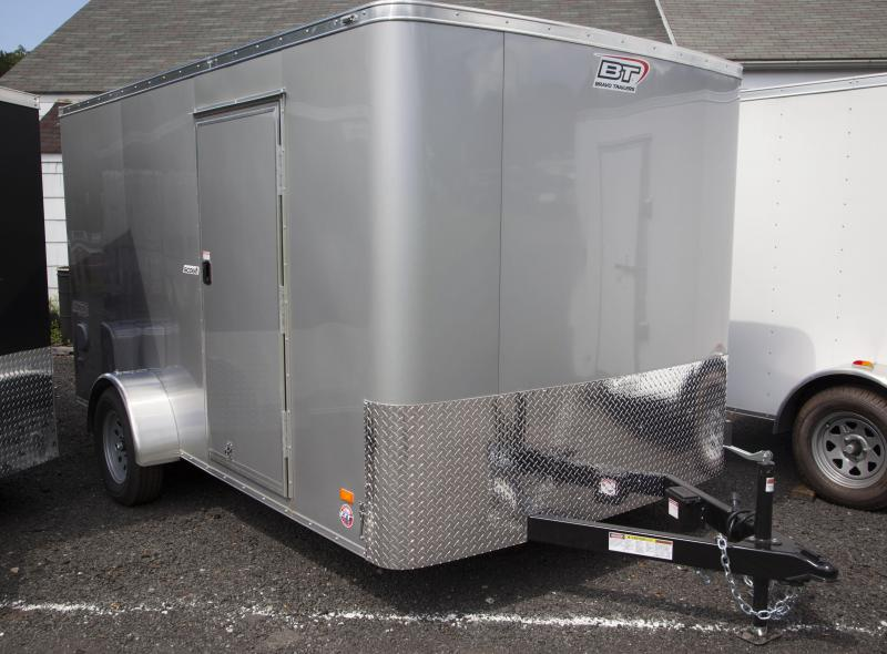 2018 Bravo Trailers 7X12 Enclosed Cargo Trailer