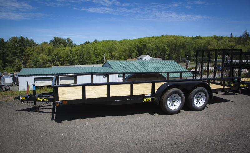 2017 Big Tex Trailers 70PI-18 Landscaping Trailer