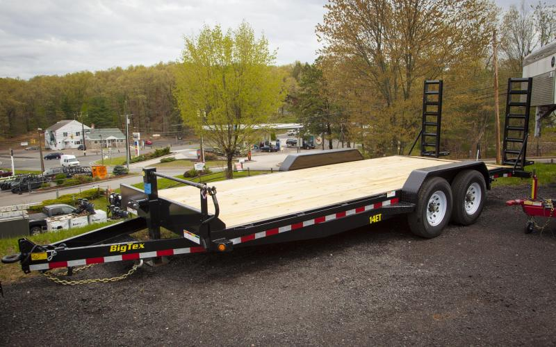 2018 Big Tex Trailers 14ET-20BK Car / Racing Trailer