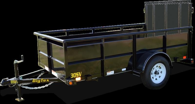 2018 Big Tex Trailers 35SV-14BK Utility Trailer