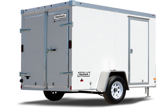 2017 Haulmark TSTV6X10DS2 Enclosed Cargo Trailer