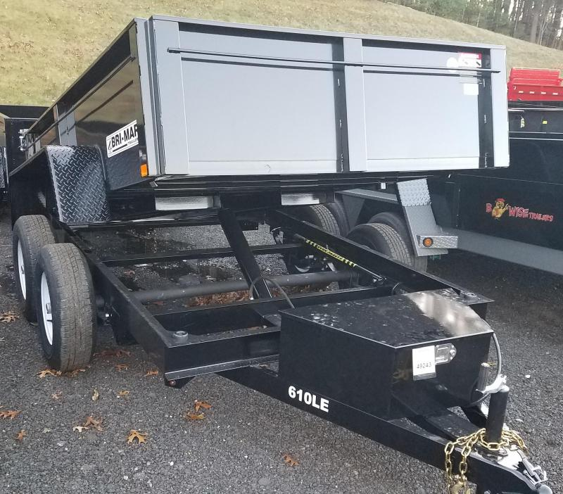 2018 B-Wise DT610LP-LE-10 Dump Trailer