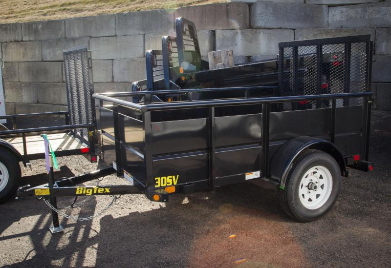 2017 Big Tex Trailers 30SV-08 Utility Trailer