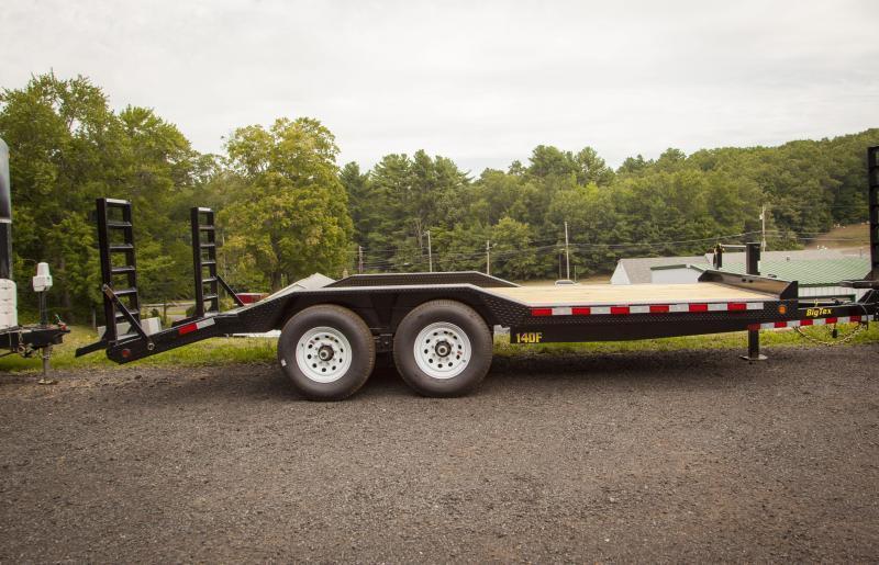2016 Big Tex 6.9' X 18' Trailer Big Tex 14DF-18BK Equipment Trailer
