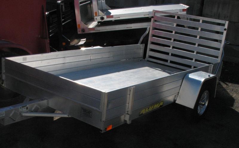 2018 Aluma 6310 Utility Trialer