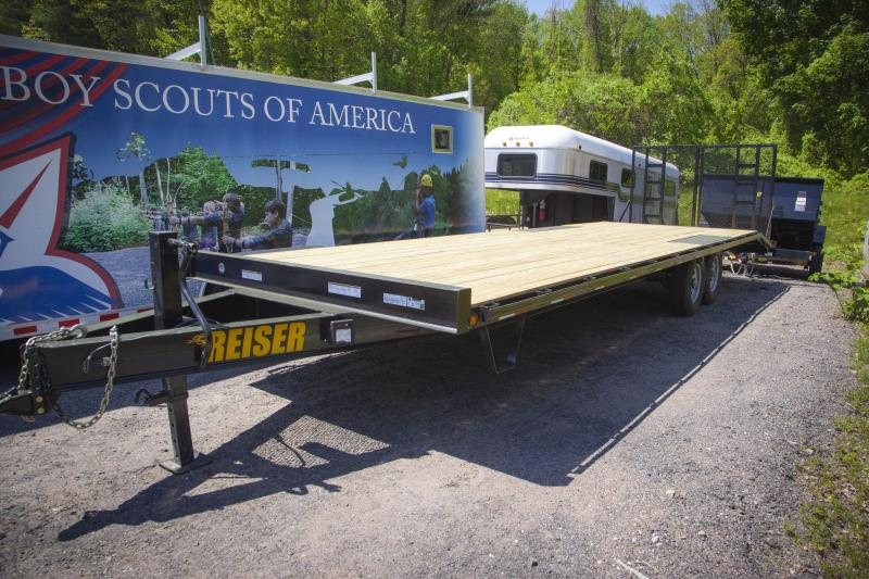 2017 Reiser Deckover DOBP2812K Equipment Trailer