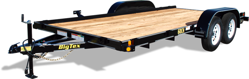 2018 Big Tex Trailers 60CH-16BK Car / Racing Trailer